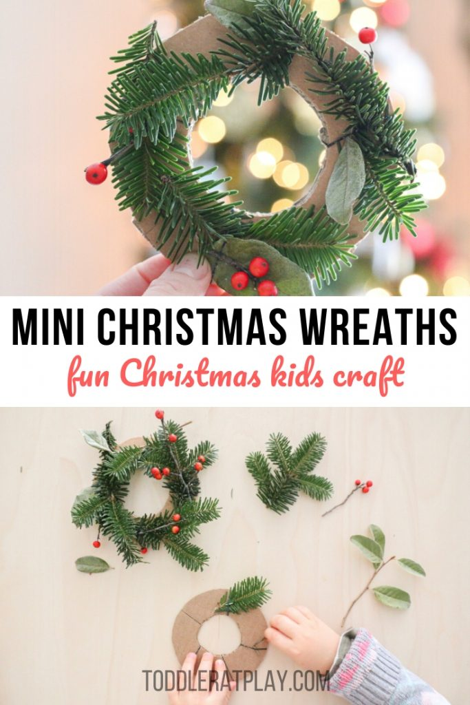 mini christmas wreaths- toddler at play (1)