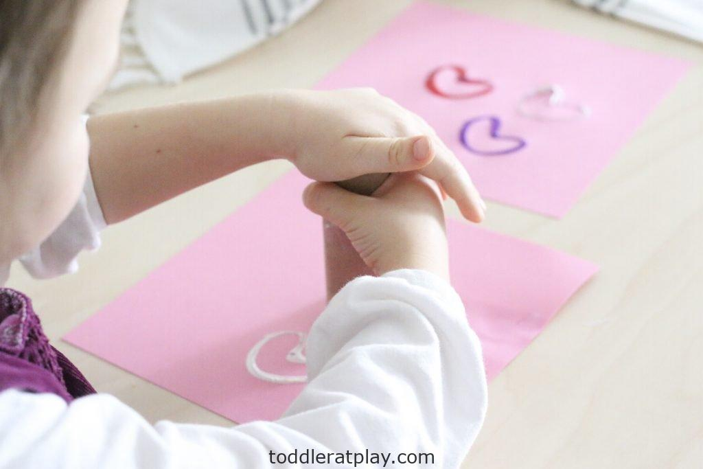 paper roll heart stamps- toddler at play (11)