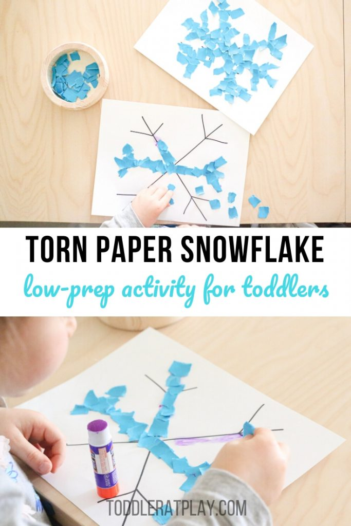 torn paper snowflakes- toddler at play (8)