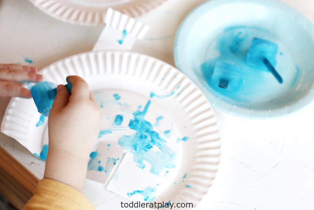ice painted igloos (3)