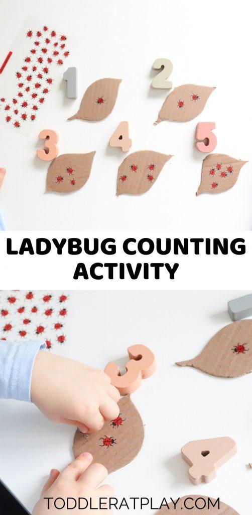 ladybug counting activity - toddler at play (2)