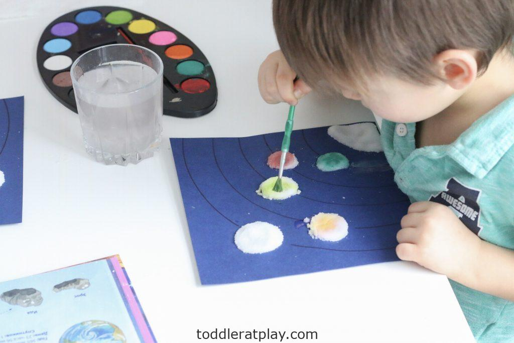 watercolor solar system craft- toddler at play (4)