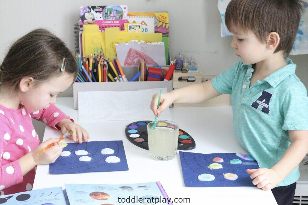 watercolor solar system craft- toddler at play (6)
