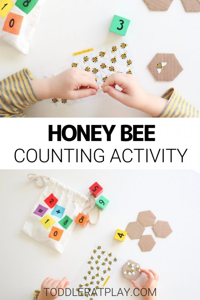 bee counting activity- toddler at play (1)