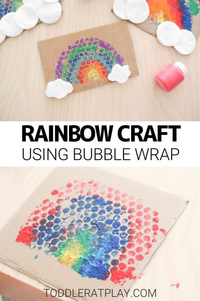 bubble wrap rainbow craft- toddler at play (2)