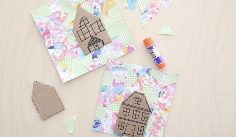 Collage House Craft