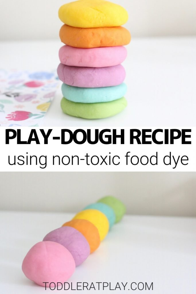 the best play-dough recipe- toddler at play (3)