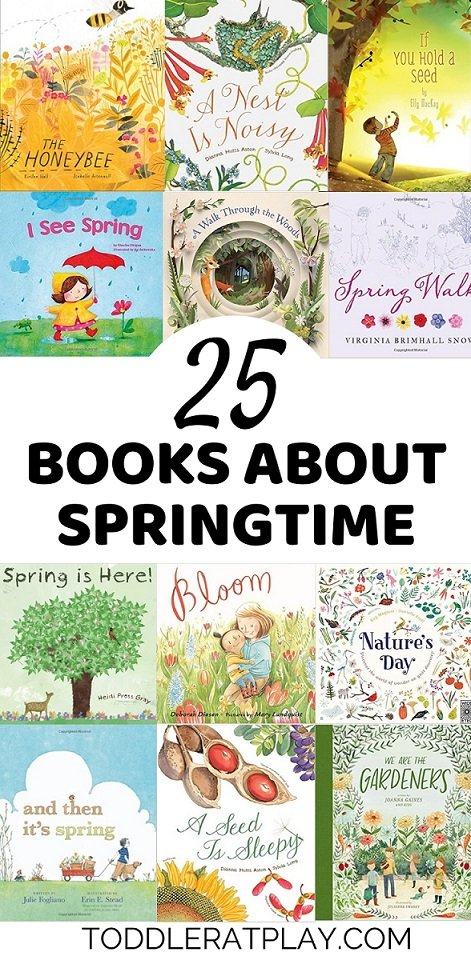 (80) 25 books about springtime- toddler at play