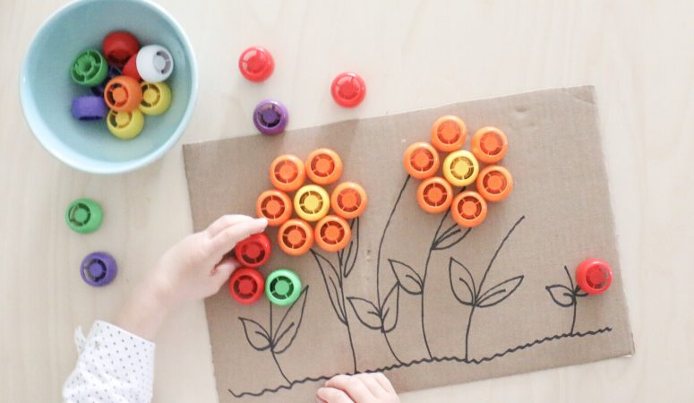 Pouch Lid Flower Activity (VIDEO)