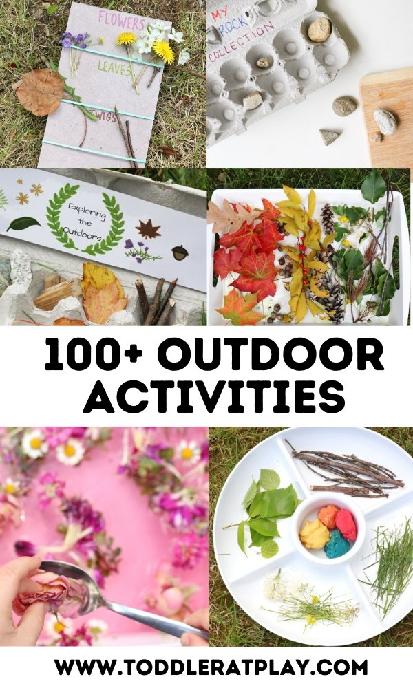 100+ outdoor activities for kids