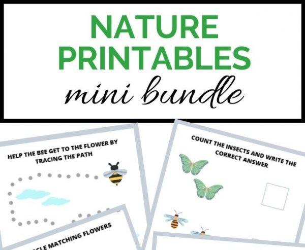 nature printables- toddler at play