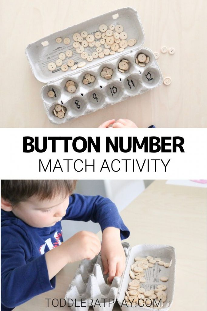 button number match activity- toddler at play (2)