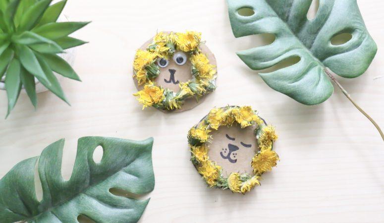 Dandelion Lion Craft