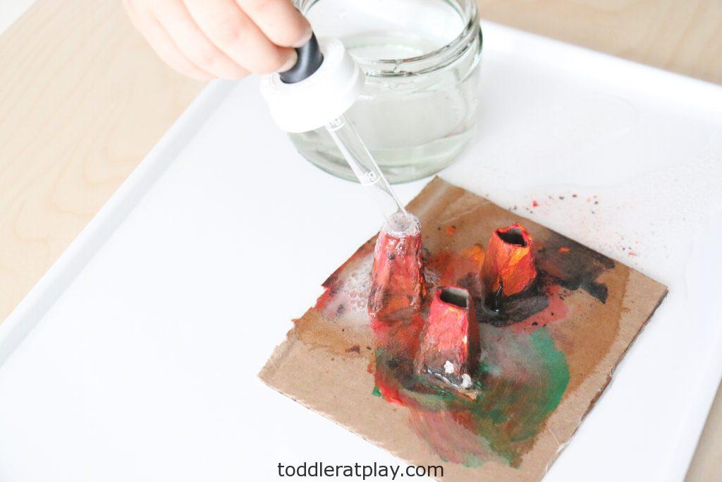 egg carton volcanoes- toddler at play (2)