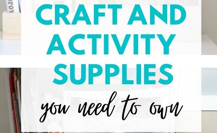 Supplies for Quick Crafts and Activities