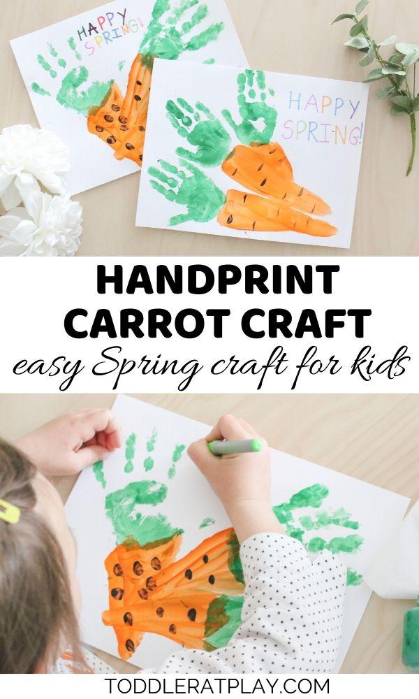 handprint carrot craft- toddler at play (1)