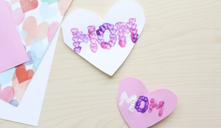 Mother's Day Heart Card Craft (VIDEO)