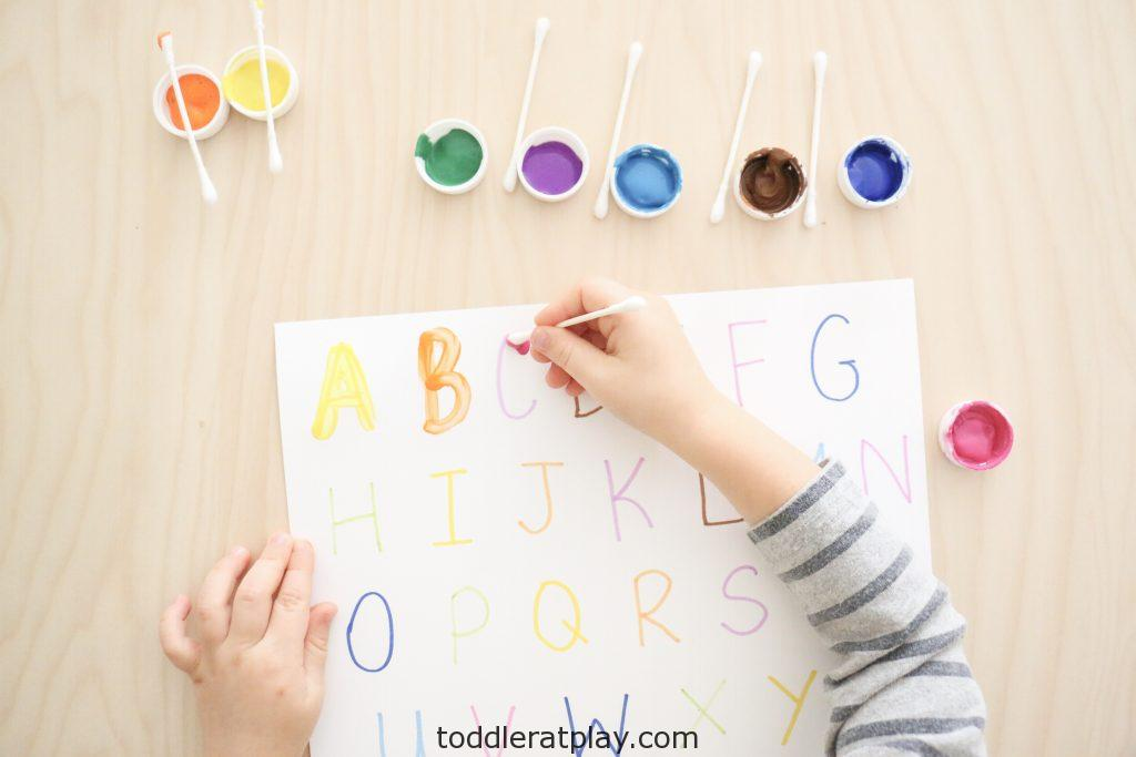 qtip letter tracing- toddler at play (5)