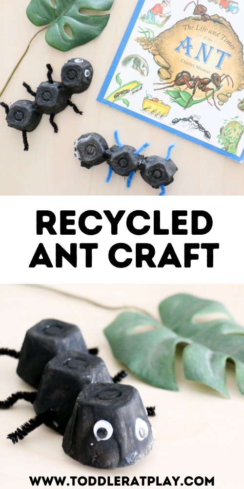 recycled ant craft- toddler at play (2)