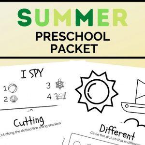 summer preschool packet (2)
