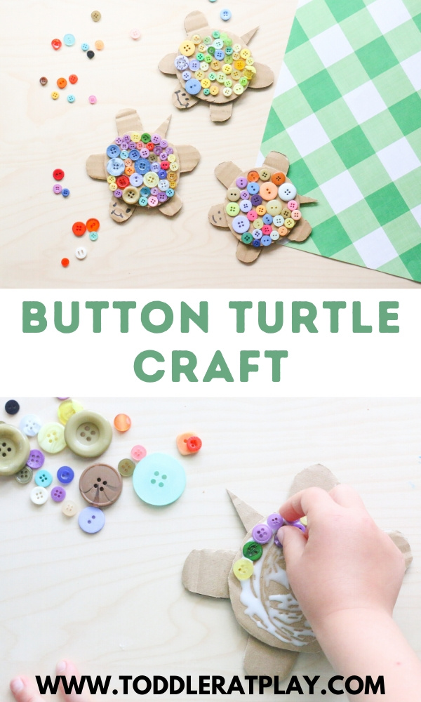 button turtle craft- toddler at play (1)