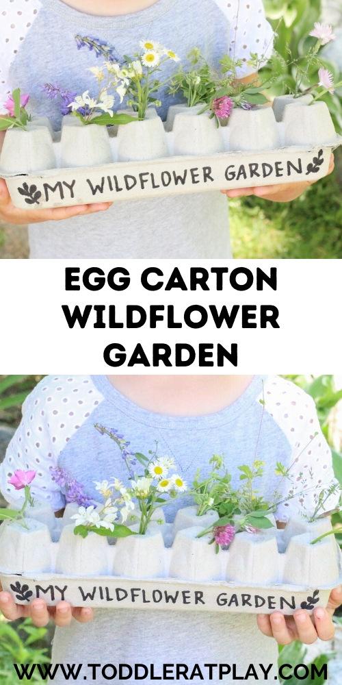 egg carton wildflower garden - toddler at play (1)egg carton wildflower garden - toddler at play (1)