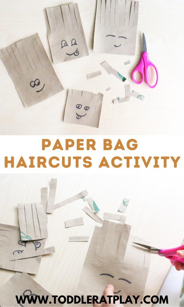 paper bag haircuts activity- toddler at play (1)