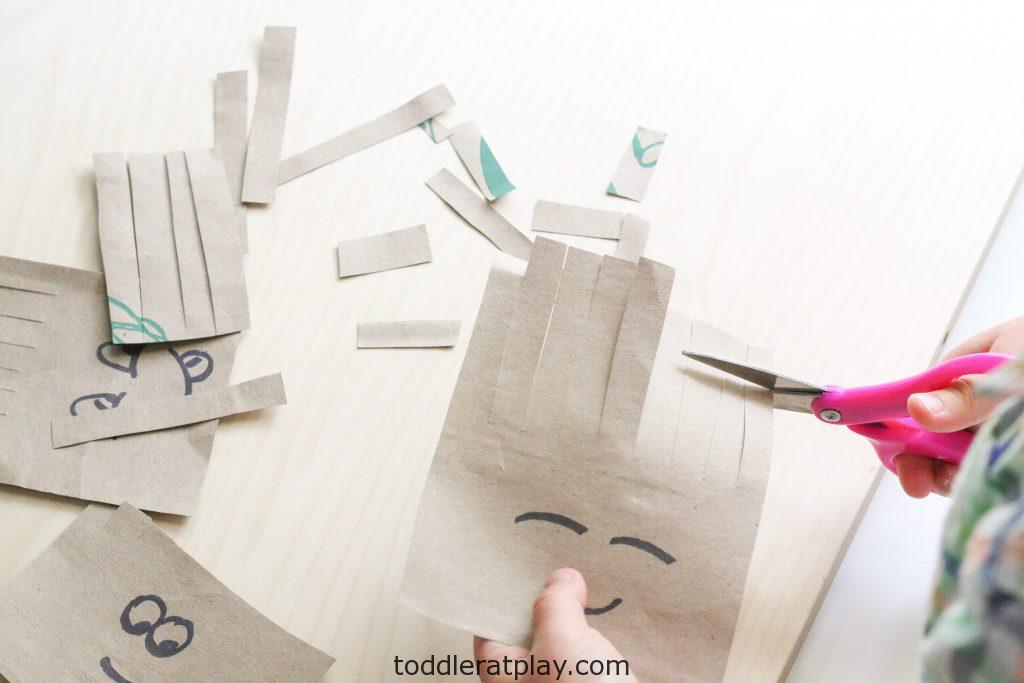paper bag haircuts activity- toddler at play (4)