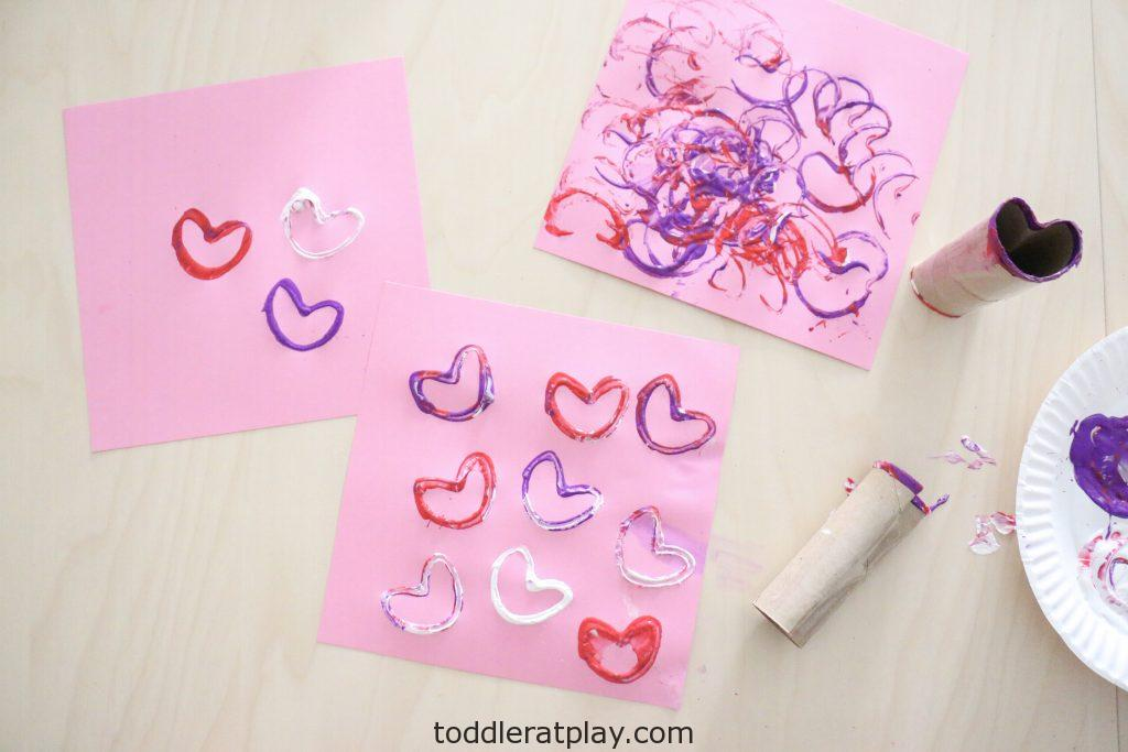 paper roll heart stamps- toddler at play (20)