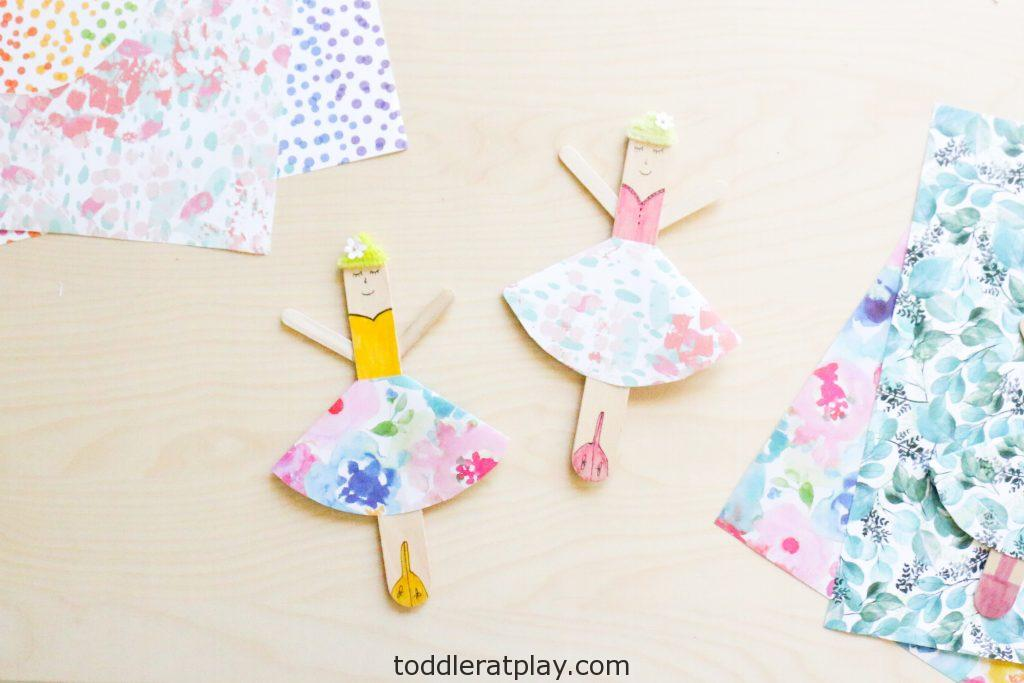 popsicle stick ballerina craft- toddler at play (3)
