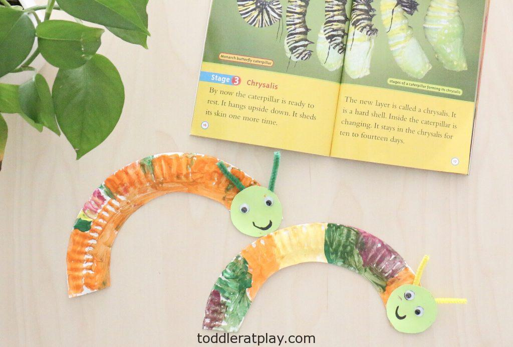 paper plate caterpillar craft- toddler at play (3)