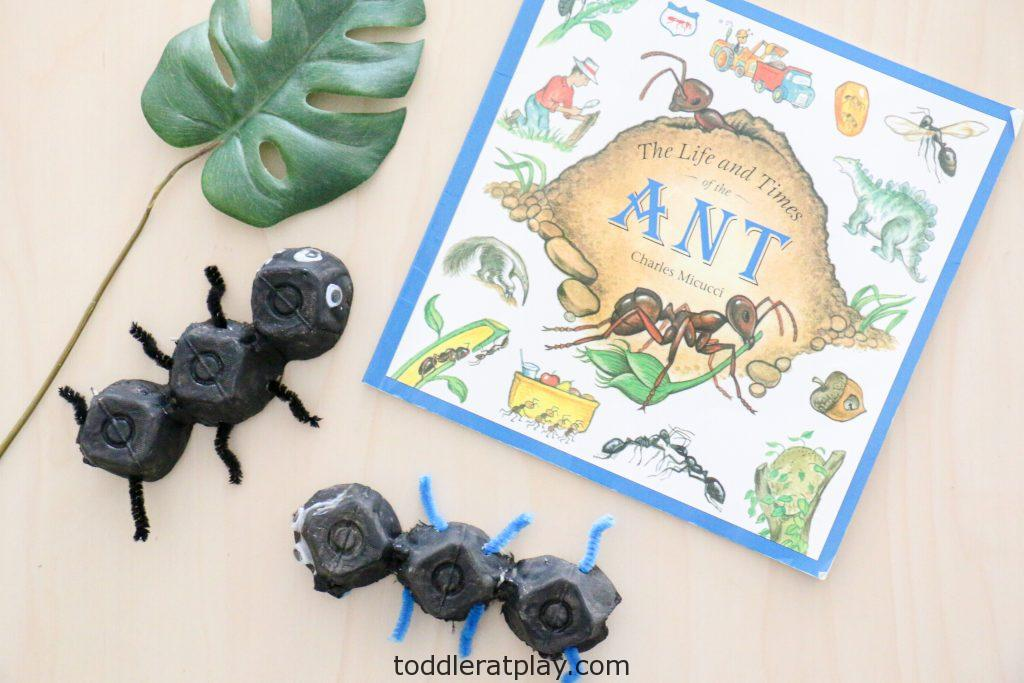 recycled ant craft- toddler at play (3)