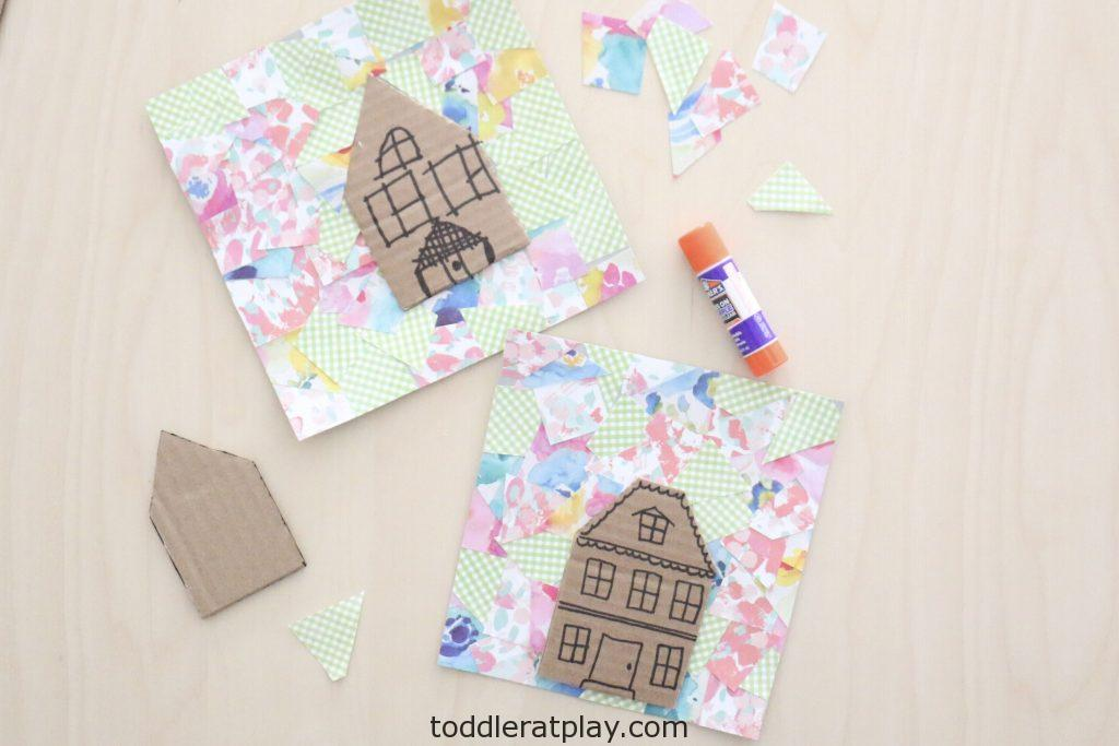 collage house craft- toddler at play (3)