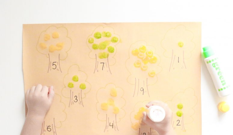Apple Tree Counting Activity