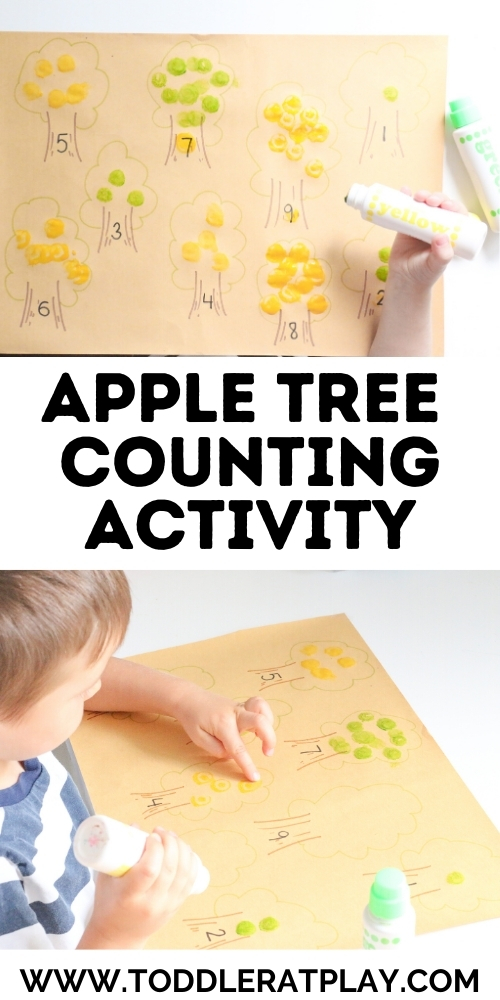 apple tree counting activity - toddler at play (2)