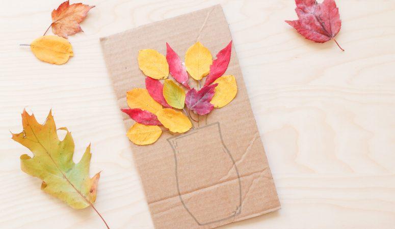Fall Bouquet Craft