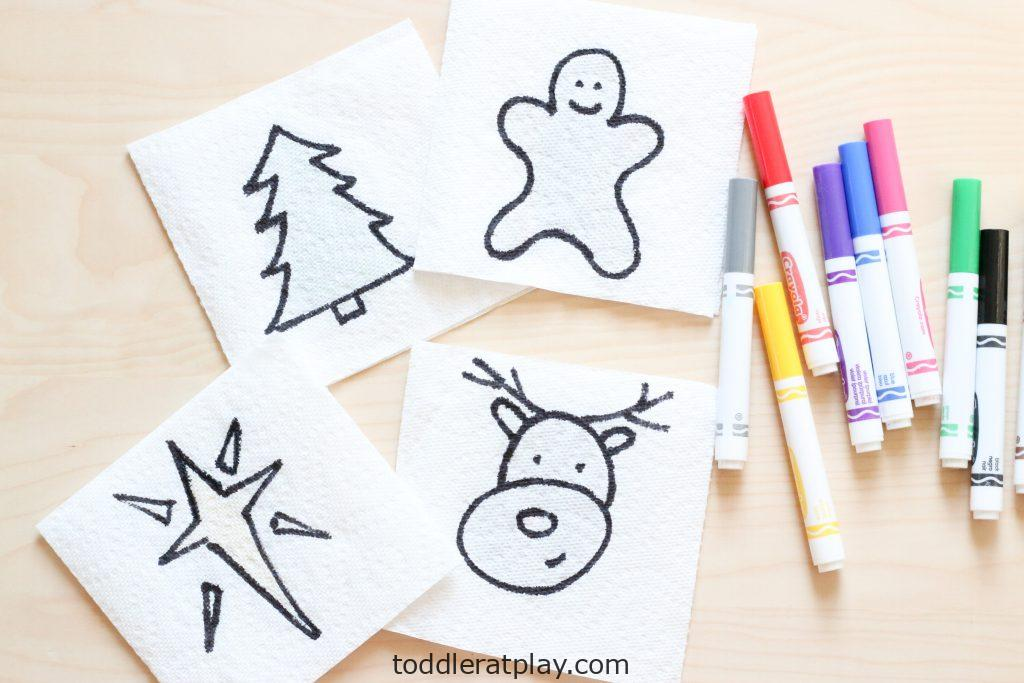 christmas paper towel reveal activity (1)