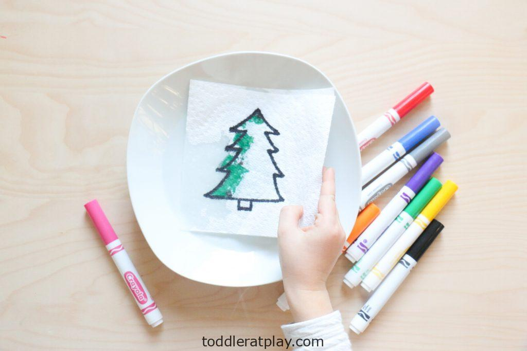 christmas paper towel reveal activity (4)
