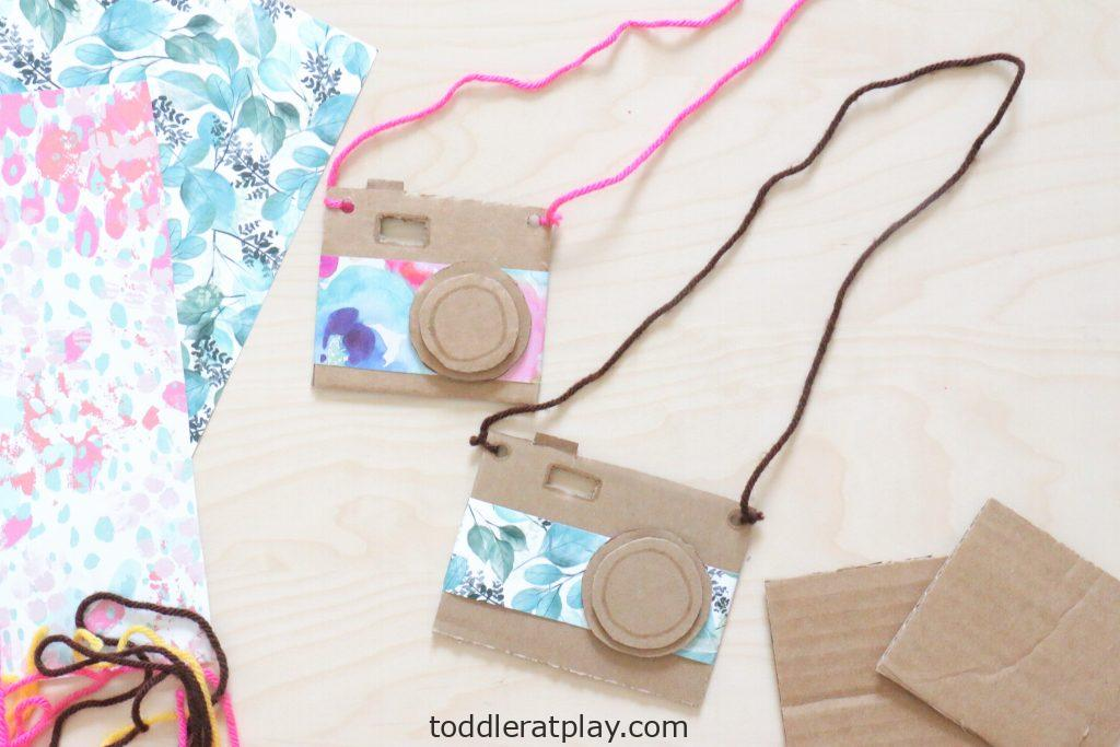 cardboard camera craft- toddler at play (3)