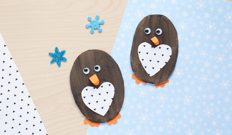 Cardboard Penguin Craft