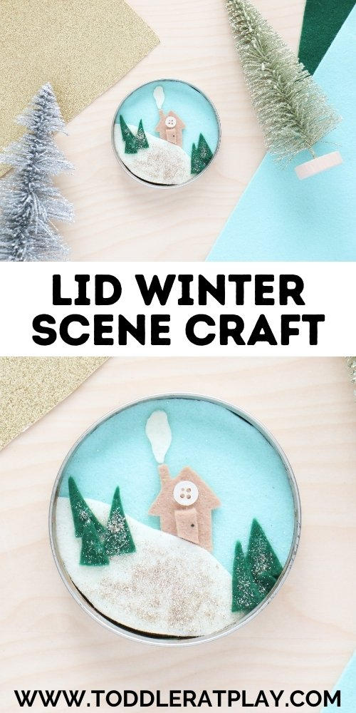 lid winter scene craft - toddler at play (1)