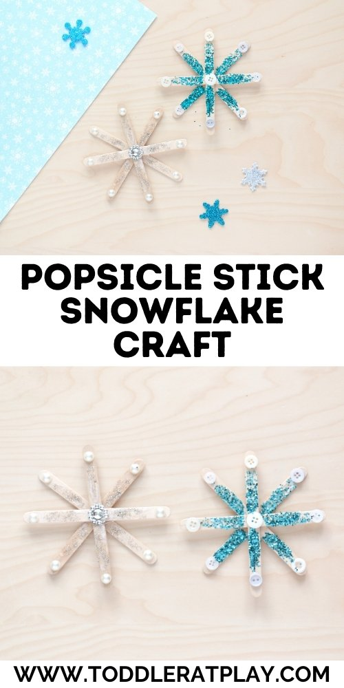 popsicle stick snowflake craft - toddler at play (2)