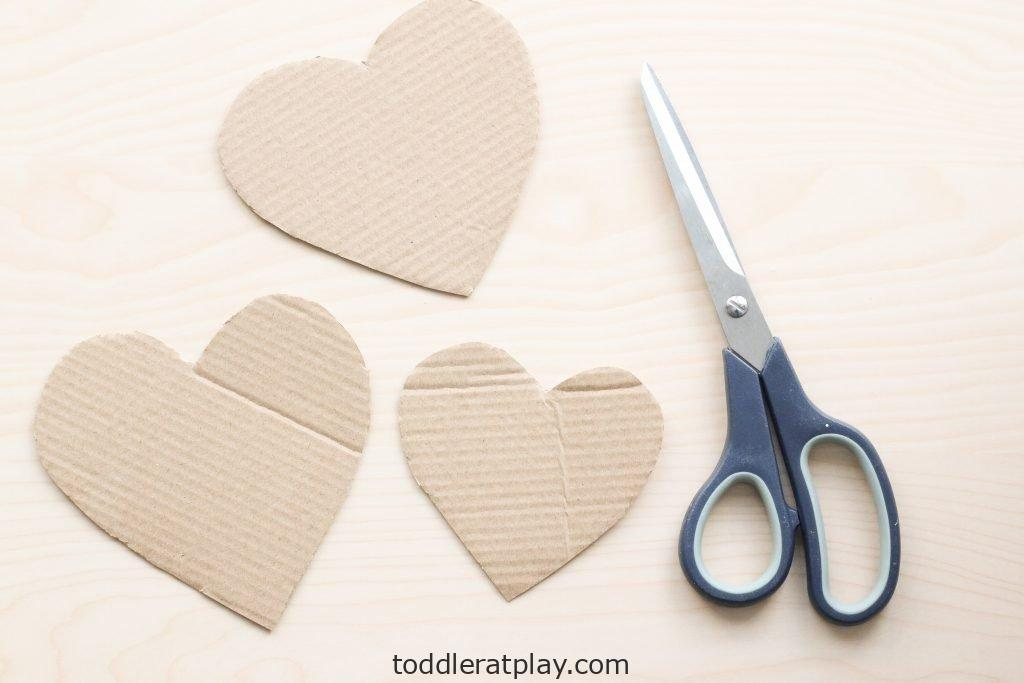 tissue paper heart craft - toddler at play (5)